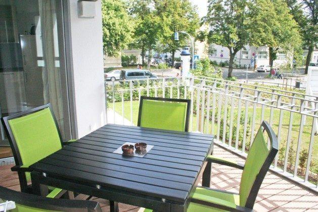 Balkon - Warnemünde Ferienwohnung Windflüchter - Ref. 55054 - 1