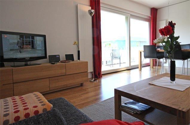 Wohnzimmer Warnemünde Ferienwohnung Lichtblick Ref: 55933