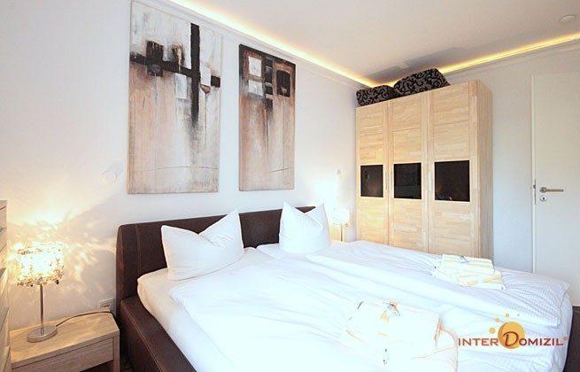 Schlafzimmer 1 Warnemünde Ferienwohnung Meeresrauschen Ref: 66143
