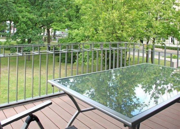 Warnemünde - Residenz im Kurpark - Ferienwohnung Haska - Balkon- Ref. 66225  - 1