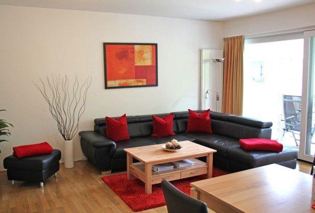 Warnemünde - Residenz im Kurpark - Ferienwohnung Haska - Ess- und Wohnzimmer - Ref. 66225  - 1