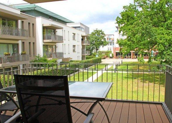 Warnemünde - Residenz im Kurpark - Ferienwohnung Haska - Essbereich und Küche - Ref. 66225  - 1