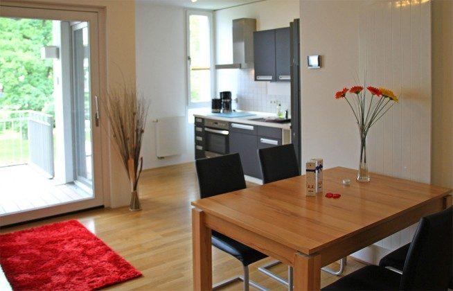 Warnemünde - Residenz im Kurpark - Ferienwohnung Haska - Essbereich - Ref. 66225  - 1