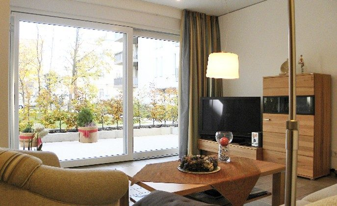 Warnemünde Residenz im Kurpark - Fensterblick - Ref. 71003-1