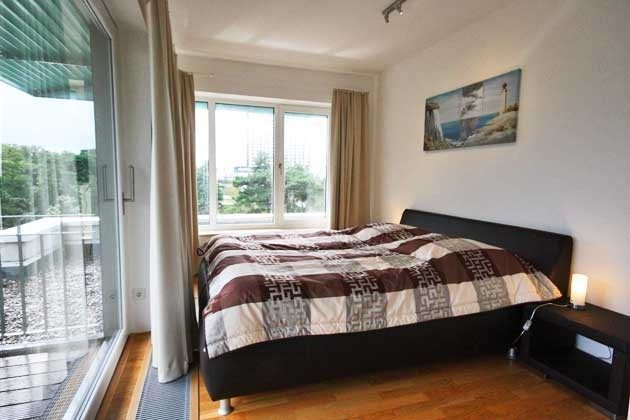 Schlafzimmer 1 Penthouse Nautilus Ref: 96961-1 / Residenz im Kurpark