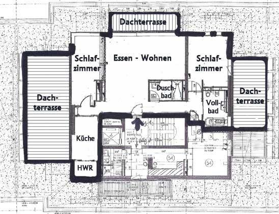 Grundriss - Penthouse Nautilus Ref: 96961-1 / Residenz im Kurpark