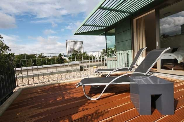 Dachterrasse Süd - Penthouse Nautilus Ref: 96961-1 / Residenz im Kurpark