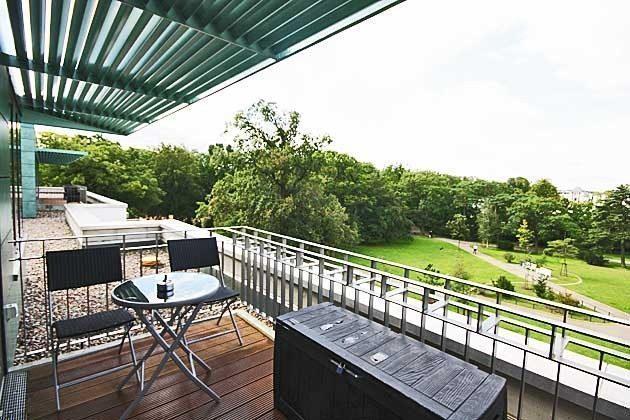 Dachterrasse West - Penthouse Nautilus Ref: 96961-1 / Residenz im Kurpark