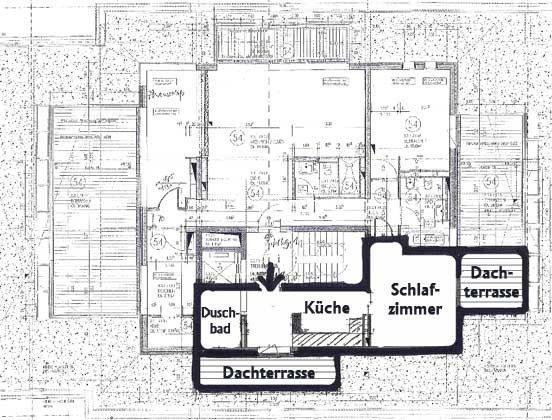 Grundriss Warnemünde Penthaus Residenz im Kurpark