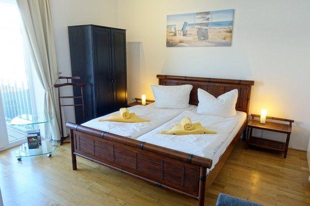 Schlafzimmer Warnemünde Penthaus Residenz im Kurpark