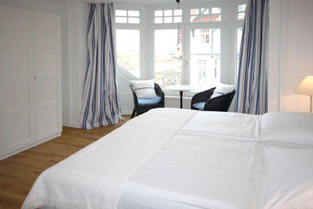 Schlafzimmer 1 - Ferienwohnung am Strand