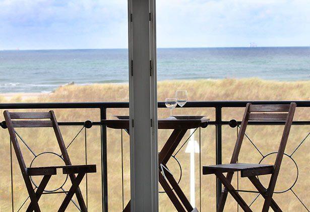 Warnemünde - Ferienwohnung am Strand