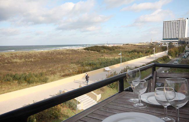 Balkon - Ferienwohnung am Strand