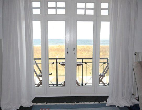 Fenster - Ferienwohnung am Strand