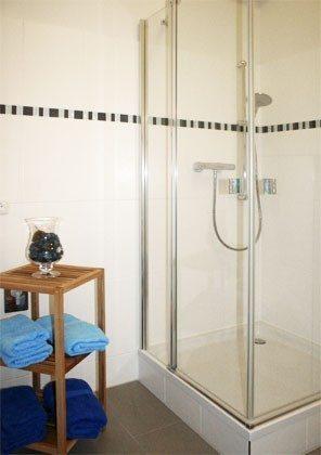 Warnemünde Ferienwohnung  Seeblick 1 Dusche