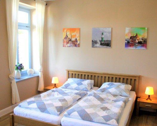 Warnemünde Ferienwohnung  Seeblick 1 Schlafzimmer