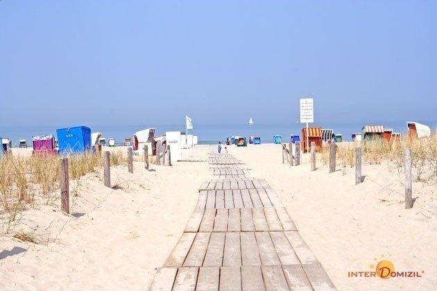 Warnemünde Ferienwohnung  Seeblick 1 Strand