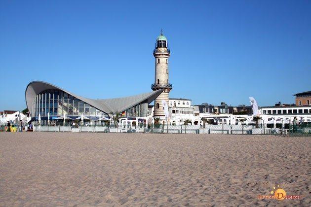Warnemünde Ferienwohnung  Seeblick 1 Leuchtturm