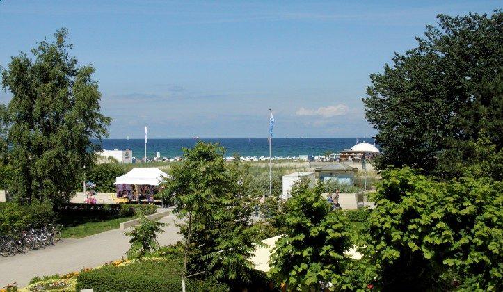Warnemünde Ferienwohnung  Seeblick 1 Terrasse