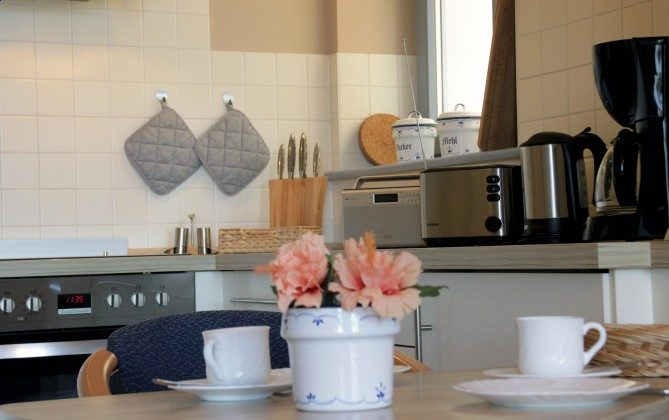 Warnemünde Ferienwohnung  Seeblick 1 Küche