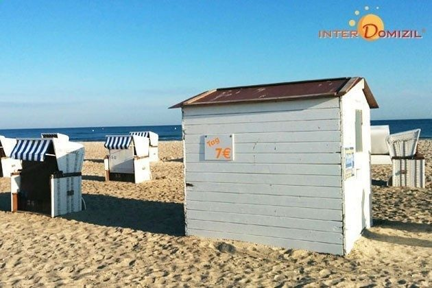Strand Warnemünde Ferienwohnung mit Seeblick