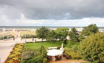 Blick auf das Meer - Warnemünde Villa Ostseeblick 1 - Ref.  192266