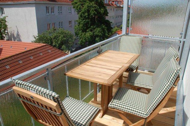 """Balkon Warnemünde Ferienwohnung """"Fischer´s Hus"""" Ref: 101391-1"""