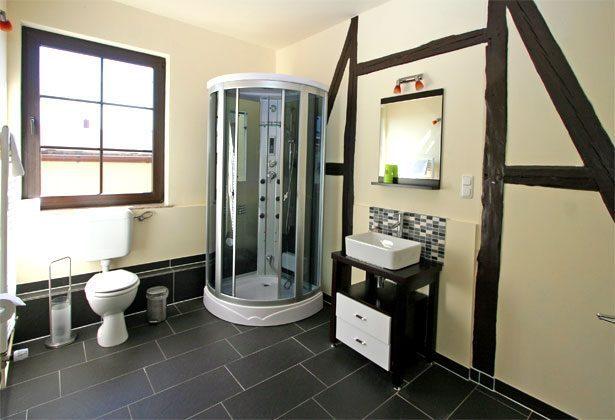 Apartmenthaus Warnemünde Badezimmer