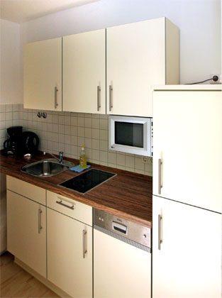 Warnemünde Apartmenthaus Küchenzeile