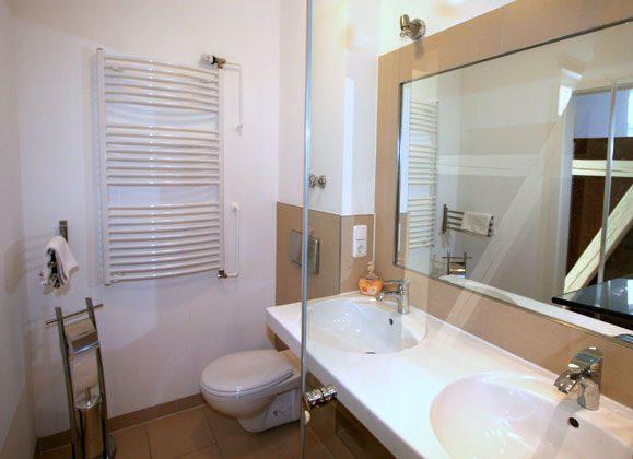 Warnemünde Apartmenthaus Badezimmer
