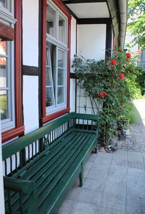 Aussensitzplatz 1 Fischerhus Strandidyll Warnemünde