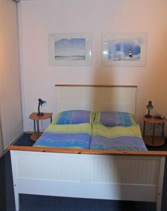 Schlafzimmer 1 Fischerhus Strandidyll Warnemünde