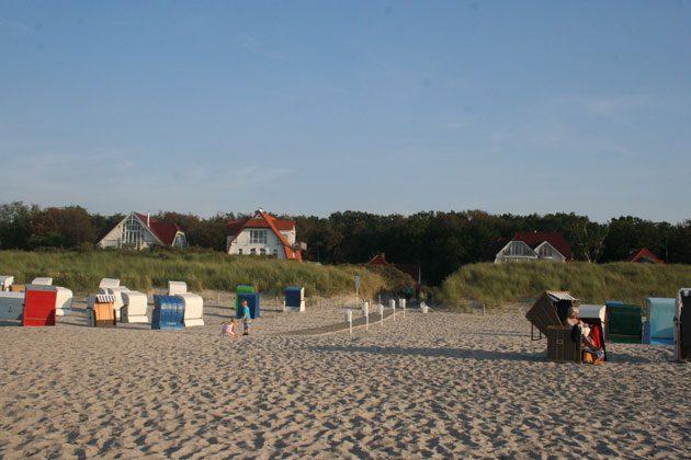 Strand von Warnemünde in der Nähe der Gartenstr.