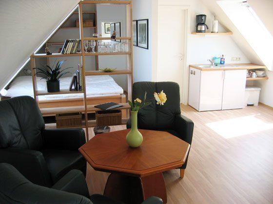 Warnemünde Appartement Fährenblick - 15206-1  Wohnbereich