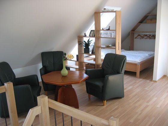 Warnemünde Appartement Fährenblick - 15206-1 Wohn- und Schlafbereich