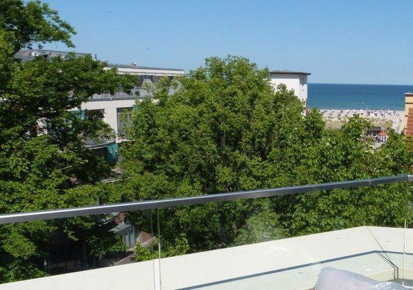 Blick von Terrasse 1 Warnemünde Luxus Penthouse Panoramablick  Ref: 169242