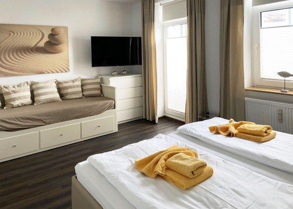 Schlafzimmer Warnemünde Ferienwohnung Sonnendeck Ref. 179879