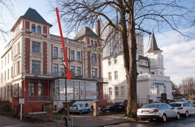 Lage in der Villa Minerva Warnemünde Ferienwohnung Brücke Villa Minerva Ref: 191058-1