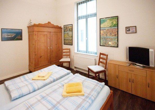 Schlafzimmer Warnemünde Ferienwohnung Koje Villa Minerva Ref: 191058-3