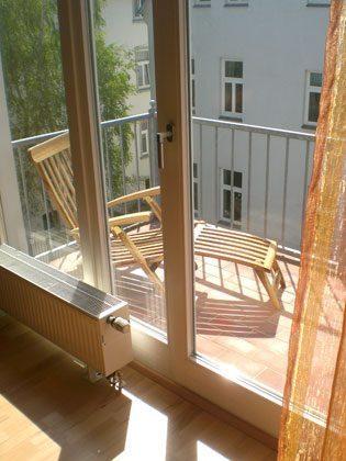 Balkon 2 Ferienwohnung Warnemünde Four Seasons Sky