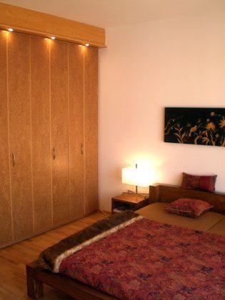 Schlafzimmer 1 Ferienwohnung Four Seasons Sky