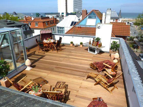 Warnemünde Ferienwohnung Four Seasons Sky Dachterrasse