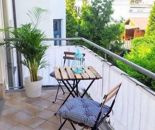 Balkon Warnemünde Ferienwohnung Achtern Diek Ref.: 204144-1