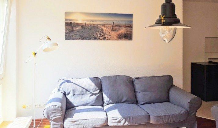 Wohnbereich Warnemünde Ferienwohnung Achtern Diek Ref.: 204144-1