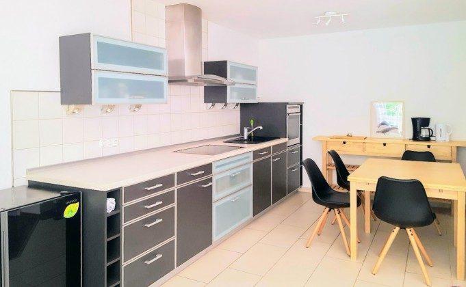 Küchenbereich Warnemünde Ferienwohnung Achtern Diek Ref.: 204144-1