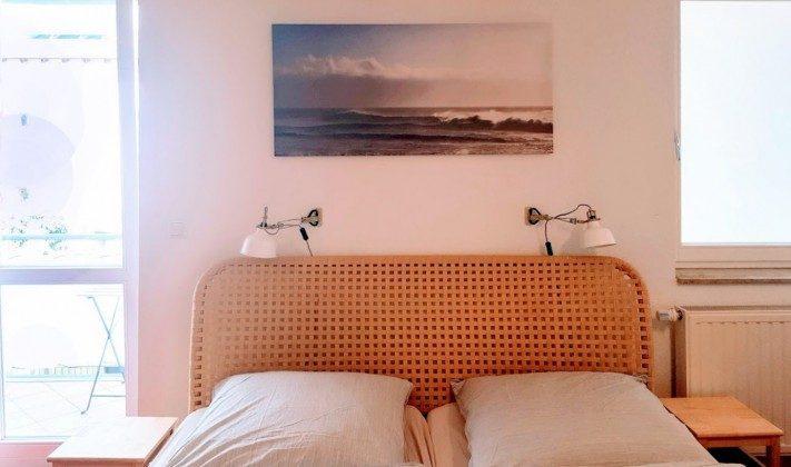 Schlafzimmer Warnemünde Ferienwohnung Achtern Diek Ref.: 204144-1