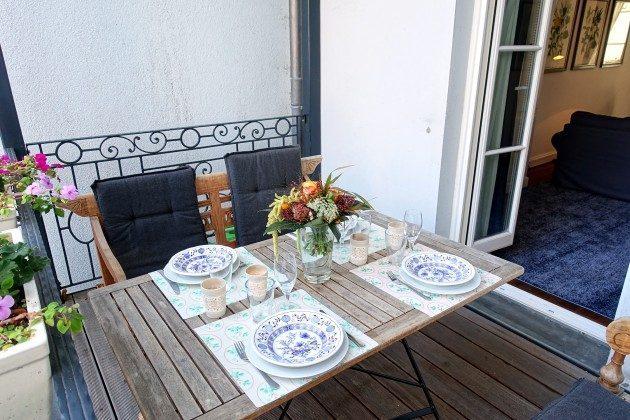 3-Zimmer-Ferienwohnung - Balkon