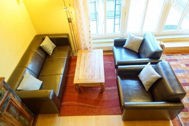 Wohnbereich Ferienwohnung Warnemünde Alexandrinenstraße Ref: 2189