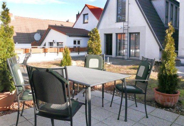 Terrasse Ferienwohnung Warnemünde Alexandrinenstraße Ref: 2189