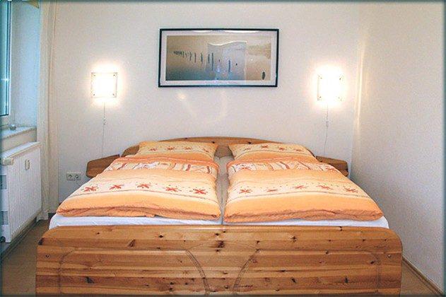 Schlafzimmer Ferienwohnung Warnemünde